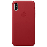 iPhone XS レザーケース (PRODUCT)RED [MRWK2FE/A]