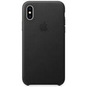 iPhone XS レザーケース ブラック [MRWM2FE/A]