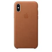 iPhone XS レザーケース サドルブラウン [MRWP2FE/A]