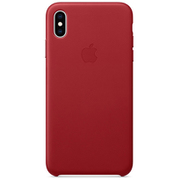 iPhone XS Max レザーケース (PRODUCT)RED [MRWQ2FE/A]