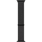Apple Watch 44mmケース用 ブラック スポーツループ - レギュラー [MTM72FE/A]