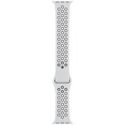 Apple Watch 44mmケース用 ピュアプラチナム/ブラック Nikeスポーツバンド - S/M & M/L [MTMY2FE/A]