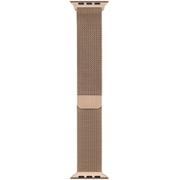 Apple Watch 44mmケース用 ゴールド ミラネーゼループ [MTU72FE/A]