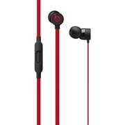 MUFQ2PA/A [urBeats3 インイヤーヘッドフォン 3.5 mmプラグ付き The Beats Decade Collection レジスタンス・ブラックレッド]