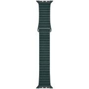 Apple Watch 44mmケース用 フォレストグリーン レザーループ - M [MTH72FE/A]