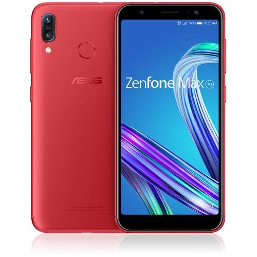 ZB555KL-RD32S3 [SIMフリースマートフォン Zenfone Max M1(ゼンフォン マックス M1) 5.5インチ/メモリ 3GB/ストレージ 32GB/Android 8.0/ルビーレッド]