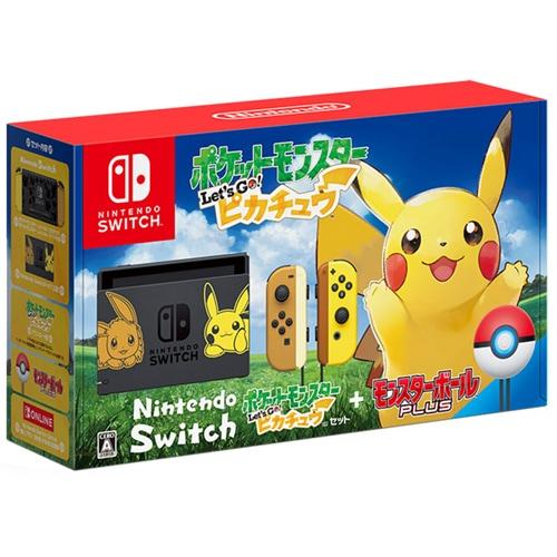 Nintendo Switch ポケットモンスター Let's Go! ピカチュウセット (モンスターボール Plus付き) [Nintendo Switch本体 2019年2月2日再生産]