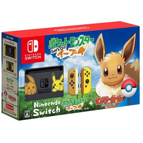 Nintendo Switch ポケットモンスター Let's Go! イーブイセット (モンスターボール Plus付き) [Nintendo Switch本体 2019年2月2日再生産]