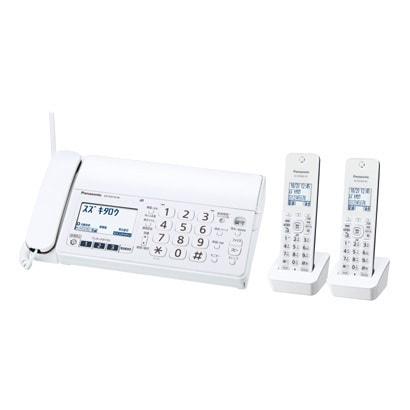 KX-PZ210DW-W [デジタルコードレス普通紙ファクス(子機2台付き) ホワイト]