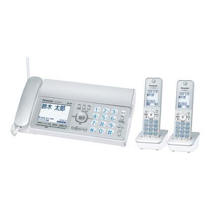 KX-PZ310DW-S [デジタルコードレス普通紙ファクス(子機2台付き) シルバー]