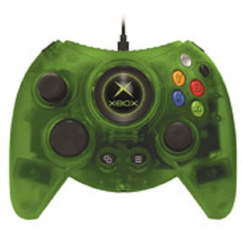 DUKE for Xbox One-Green Wired Controller