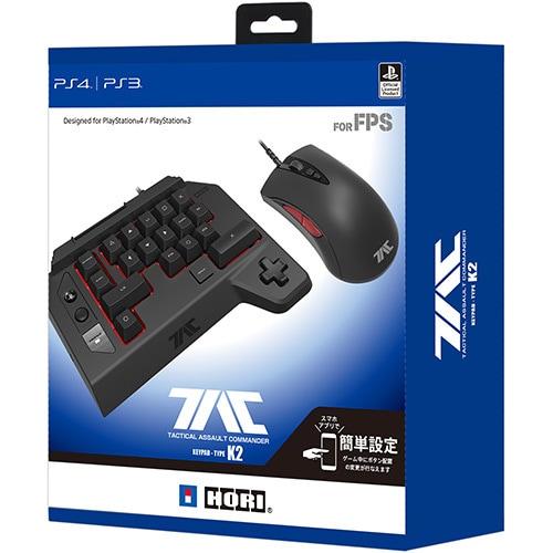 PS4-124 [タクティカルアサルトコマンダー キーパッドタイプ K2 for PlayStation 4/PlayStation 3/PC]