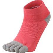 5Fアーチサポートショートソックス 5 Finger Arch Support Short Socks 3F93357 (PP)パラダイスピンク Lサイズ [スポーツソックス]