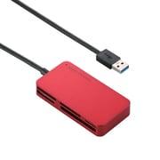 MR3-A006XRD [メモリリーダライタ USB3.0対応 SD.microSD.MS.XD.CF対応 スリムコネクタ レッド]