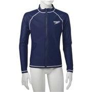 ロングスリーブアクアシャツ  SD65J17 (NB)ネイビーブルー 140サイズ [ラッシュガード ボーイズ]