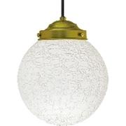 PWH-200LE [LEDペンダント照明 乳白ヒビ 60W相当E26クリアLED電球付]