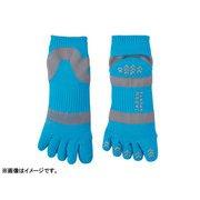 JAPAN SPORTS SOCKS 5本指ソックス3足セット ブルー(22-27cm男女兼用)