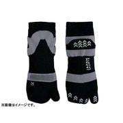 JAPAN SPORTS SOCKS 足袋ソックス3足セット ブラック(22-27cm男女兼用)