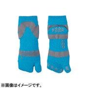 JAPAN SPORTS SOCKS 足袋ソックス3足セット ブルー(22-27cm男女兼用)