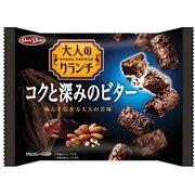 大人のクランチコクと深みのビター 108g [チョコレート菓子]