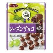 果実Veil レーズンチョコスタンドパウチ 49g [チョコレート菓子]