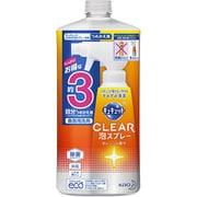 キュキュット CLEAR泡スプレー オレンジの香り つめかえ用 [食器用洗剤 720mL]