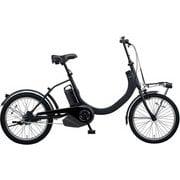 BE-ELSW01B [電動アシスト自転車 SW 20型 8Ah 変速なし マットジェットブラック 2019年モデル]