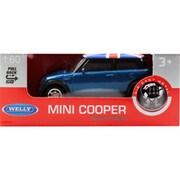 プルバックミニカー MINI COOPER UK BLUE [ミニカー]