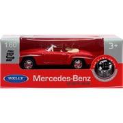 プルバックミニカー MERCEDES-BENZ 190SL-レッド [ミニカー]
