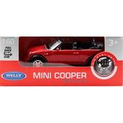 プルバックミニカー MINI COOPER S CABRIO-RED [ミニカー]