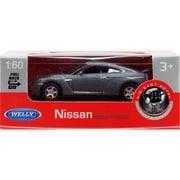 プルバックミニカー NISSAN GTR-M.GRAY [ミニカー]
