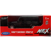 プルバックミニカー MERCEDES-BENZ G-CLASS ブラック [ミニカー]