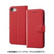 INA-P14ELC1/R [iPhone 8/iPhone 7 レザー レッド]