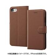 INA-P14ELC1/DK [iPhone 8/iPhone 7 レザー ダークブラウン]