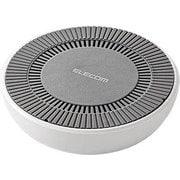 W-QA06WH [Qi規格対応ワイヤレス充電器(7.5W対応) 冷却ファン搭載 ホワイト]