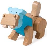 ジョイントブロック EQB 8252 HIPPO [木製玩具 3歳~]