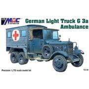 MAC72138 ドイツ軍 1.5tトラック G3a 野戦救急車 [1/72スケール プラモデル]