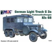 MAC72139 ドイツ軍 1.5tトラック G3a Kfz.68 無線通信用アンテナ搭載車 [1/72スケール プラモデル]