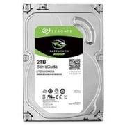 ST2000DM008 [Seagate BarraCuda 3.5インチ 2TB 内蔵HDD 2年保証 6Gb/s 256MB 7200rpm]