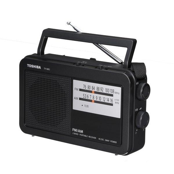 TY-HR3(K) [AM/FMラジオ ブラック]