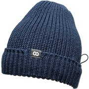 Pouch Beanie KNIT (Long Style) Navy One Size [ポーチ ビーニー ニット ネイビー]
