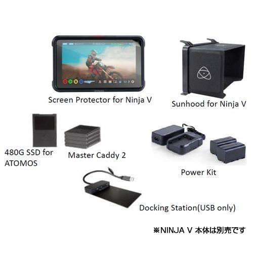 ME-NJAV01-SETD [NINJA V(ニンジャ ファイブ) 4K対応SSDレコーダー用 スターターセットD]