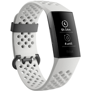 FB410GMWT-CJK [フィットネストラッカー Charge3 Special Edition White Sports Band/Graphite Aluminium L/Sサイズ]