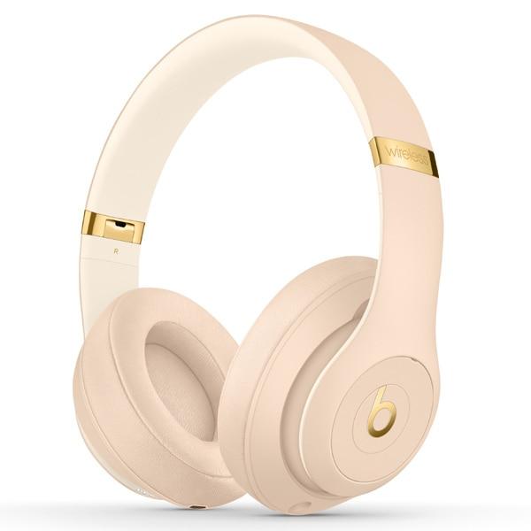 MTQX2PA/A [Beats Studio3 Wireless オーバーイヤーヘッドフォン The Beats Skyline Collection デザートサンド]