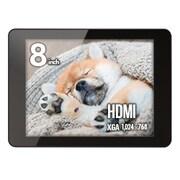 LCD-8000HT [パソコン用マルチタッチモニター plus one Touch 8インチ ブラック]