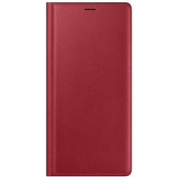 EF-WN960LREGJP [Galaxy NOTE9 Leather Wallet Cover Red]
