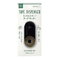 49664006 XS テープカッター 黒 [H25.5×W56×D18mm]
