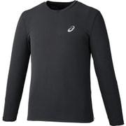 ランニングロングスリーブトップ 2011A084 001_Pブラック Mサイズ [ランニングシャツ メンズ]