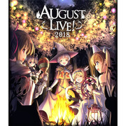 AUGUST LIVE! 2018 Blu-ray&DLCard