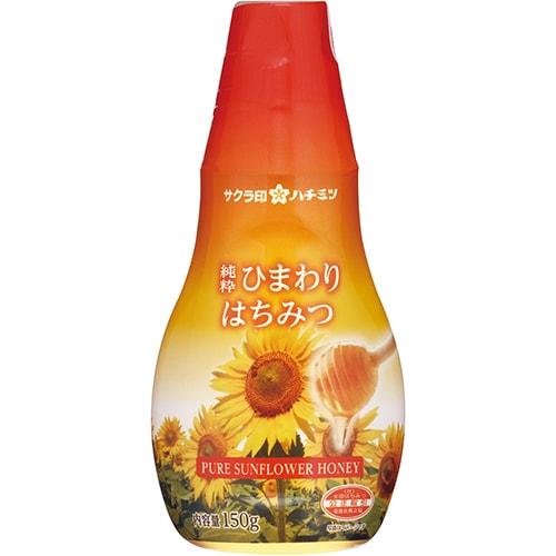 サクラ印 純粋ひまわりはちみつ 150g [蜂蜜]